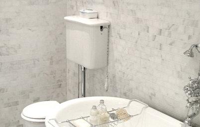 Vintage Style: High-Tank Toilets