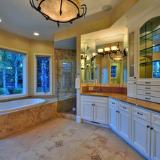 Traditional Bathroom by Maggetti Construction Inc.
