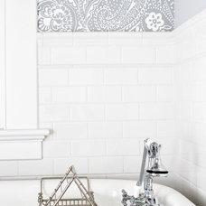 Eclectic Bathroom by BRADSHAW DESIGNS LLC