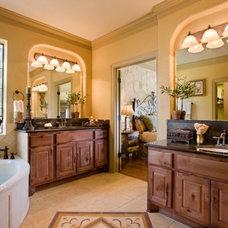 Mediterranean Bathroom by Sitterle Homes