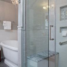 Traditional Bathroom by Ferrarini Kitchen & Bath