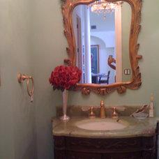 Mediterranean Bathroom by Kogen Construction, Inc