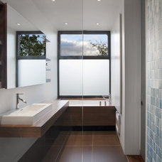 Modern Bathroom by Natalie Dionne Architecture