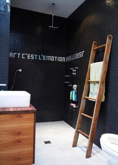 Industrial Cuarto de baño by Esther Hershcovich