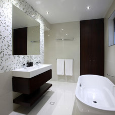 Contemporary Bathroom by SBT Designs