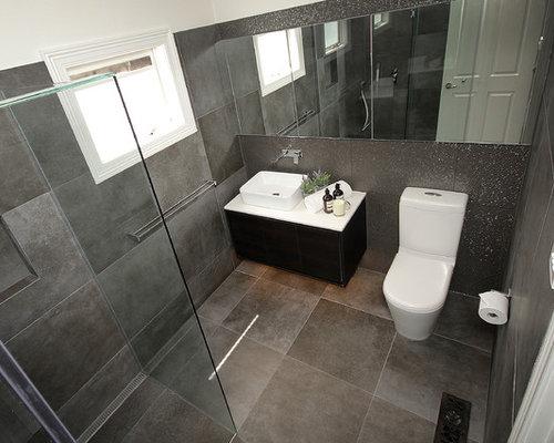 Grey And Brown Bathroom Design Ideas Renovations Photos