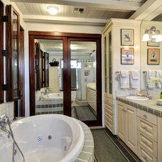 Traditional Bathroom by Schneider Custom Homes