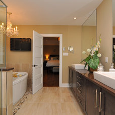 Traditional Bathroom by Interiors By Catherine