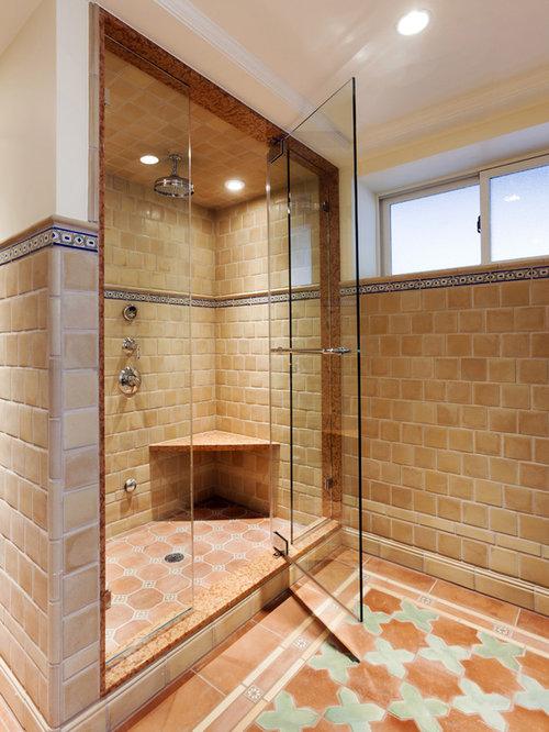 mediterrane badezimmer ideen design bilder houzz. Black Bedroom Furniture Sets. Home Design Ideas
