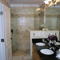 traditional bathroom by Comwest Construction