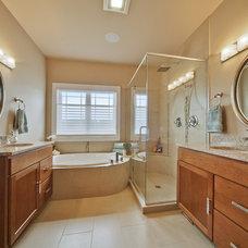 Contemporary Bathroom by Degnan Design Builders, Inc