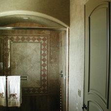 Mediterranean Bathroom by Elegant Faux Designs