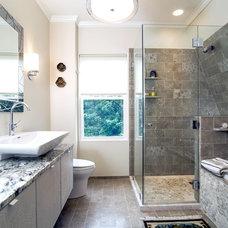 Contemporary Bathroom by Shendel Designs