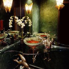 Eclectic Bathroom by Olson & Jones