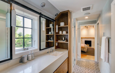Before and After: From Cramped Closet to Open Master Bathroom