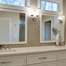 Contemporary Bathroom by Blake Shaw Homes, Inc