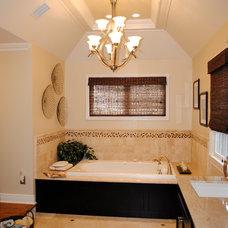 Traditional Bathroom by Marie Rego Designs LLC AKBD