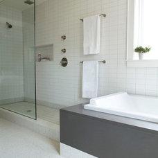 Modern Bathroom by Mark WIlliams Design Associates