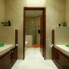 contemporary bathroom by Aurelio Vazquez