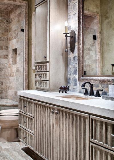 Mediterranean Bathroom by Marion Interior Design