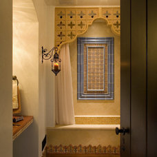 Mediterranean Bathroom by Gatling Design