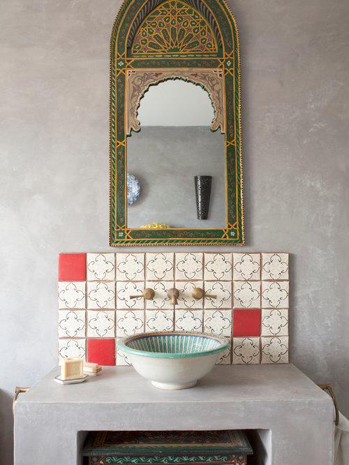 Badrum badrum medelhavs : Foton och badrumsinspiration för beirut medelhavsstil badrum