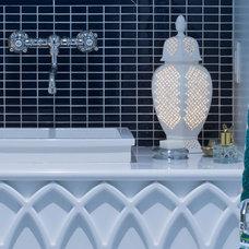 Contemporary Bathroom by Lucy Interior Design