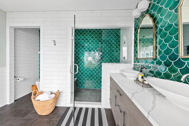 Coastal Bathroom by Treefrog Design