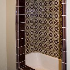 Traditional Bathroom by Pratt and Larson Ceramics