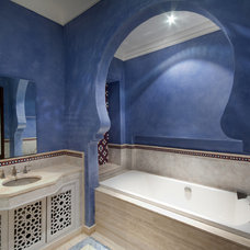 Mediterranean Bathroom by Draw Link Group