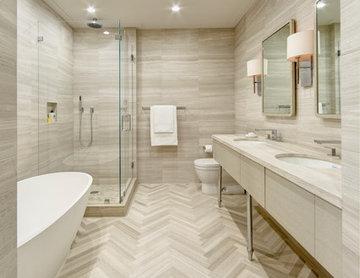 Morton St, NY Master Bath