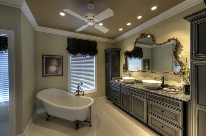 Traditional Bathroom by Moss Building and Design