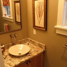 Contemporary Bathroom by SAS Builders LLC