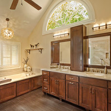 Transitional Bathroom by The Burke Company