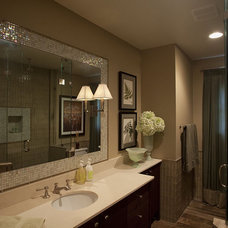 Contemporary Bathroom by Laura Roberts Design