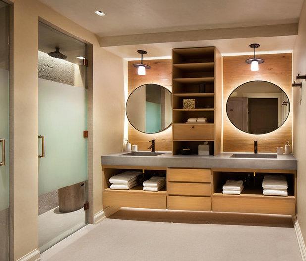 Rustikal Badezimmer by LKID