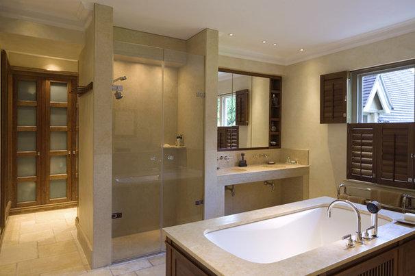 Contemporary Bathroom Mount House
