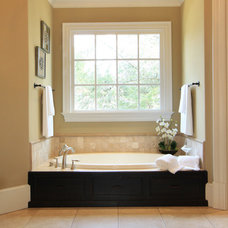 Traditional Bathroom by Design2Sell Interiors & Home Staging