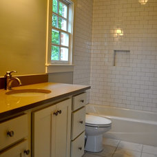 Traditional Bathroom by David Acton Building Corp.