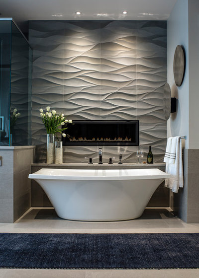 Contemporary Bathroom by Allard + Roberts Interior Design, Inc