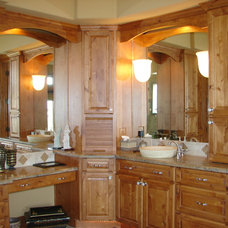 Traditional Bathroom by Castle Kitchens and Interiors
