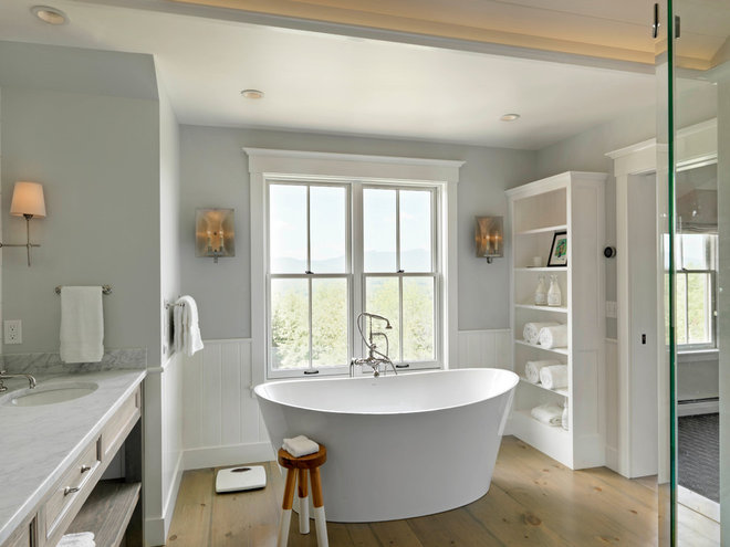 Bathroom by Cushman Design Group