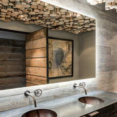 Rustic Bathroom by Highline Partners, Ltd