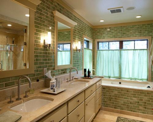 Bagno con piastrelle gialle foto idee e immagini piastrelle bagno