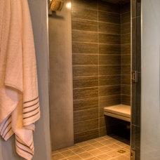 Modern Bathroom by Bear Mountain Builders