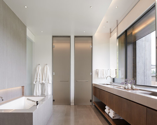 Modern Bathroom Ideas contemporary bathroom features freestanding tub shower for two Best Modern Bathroom Design Ideas Remodel Pictures Houzz