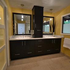 Modern Bathroom by Angela Todd Designs, Portland, OR
