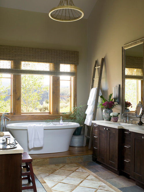 Bathroom Towel Ladder Home Design Ideas, Pictures, Remodel and Decor