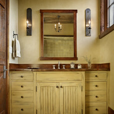 Rustic Bathroom by Yellowstone Traditions