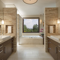 Contemporary Bathroom by Mosaic Architects SF